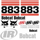 Bobcat 883 Decals Stickers 2