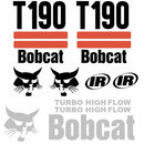 Bobcat T190 Decal Set (2 Stripe)