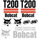 Bobcat T200 Decal Set (2 Stripe)