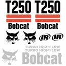 Bobcat T250 Decal Set (2 Stripe)