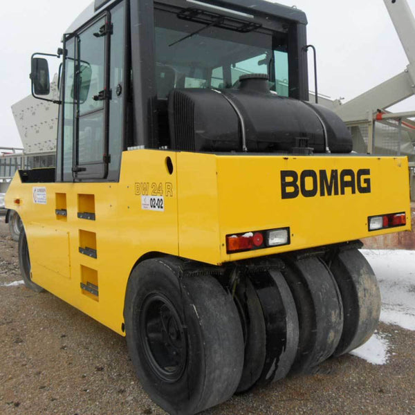Bomag 24R Decal Sticker Set