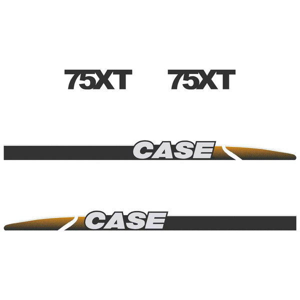 Case 75XT Decal Sticker Set