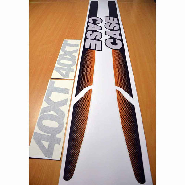 Case 40XT Decal Sticker Set
