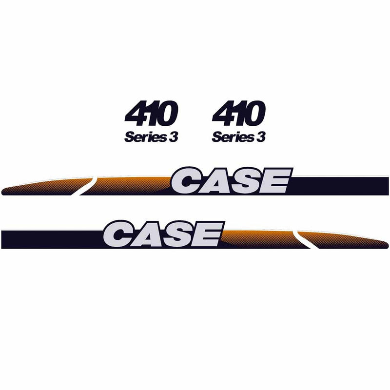 Case 410 Decal Set
