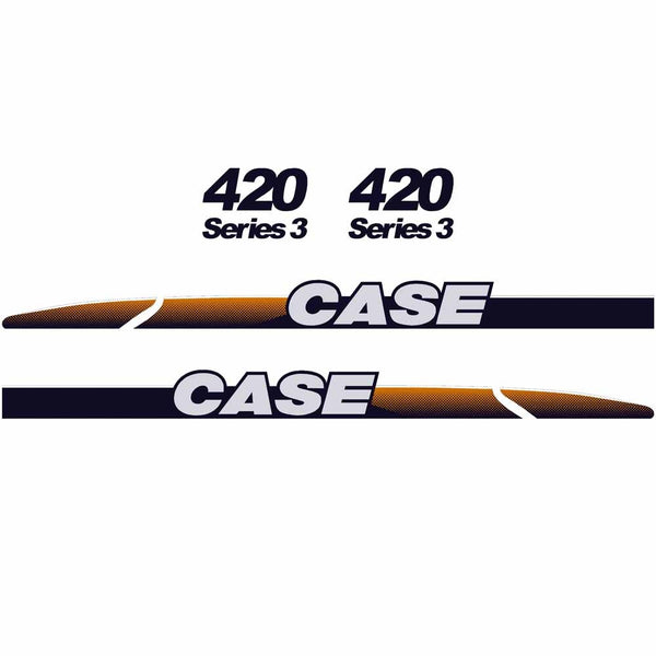 Case 420 Decal Sticker Set