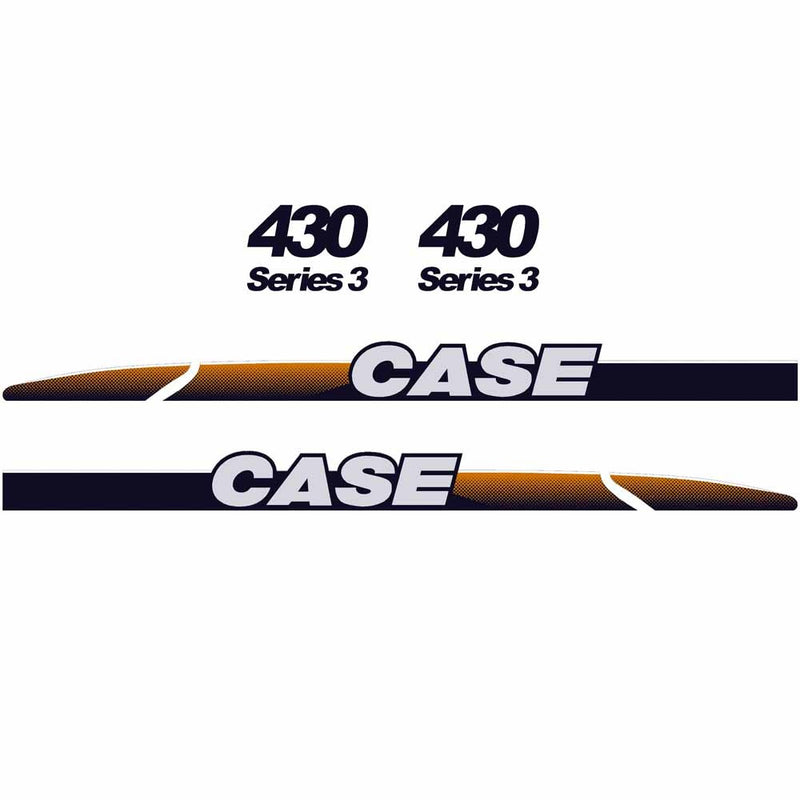 Case 430 Decal Sticker Set
