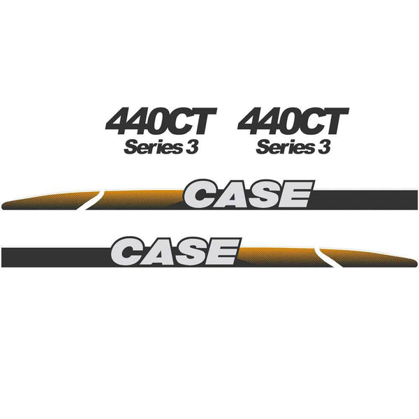 Case 440CT Decal Sticker Set