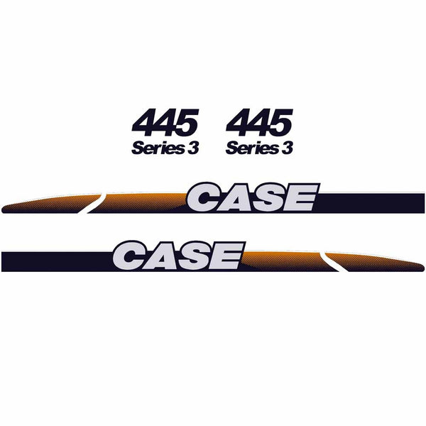 Case 445 Decal Sticker Set
