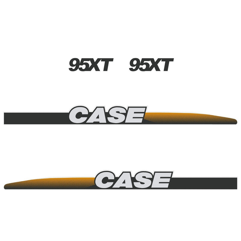 Case 95XT Decal Sticker Set