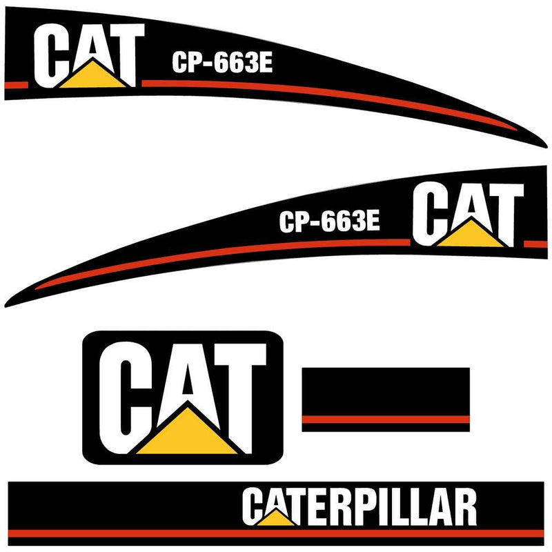 CP663E Decals Stickers Set