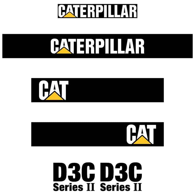 D3C II Decals Stickers Set