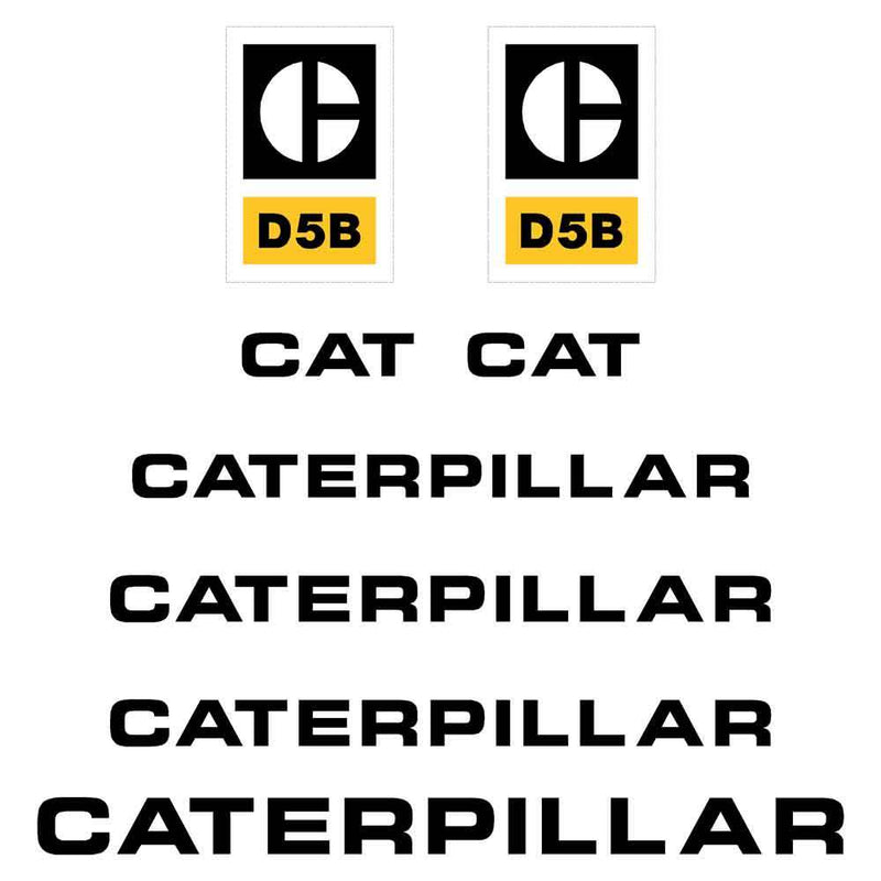 D5B Decals Stickers