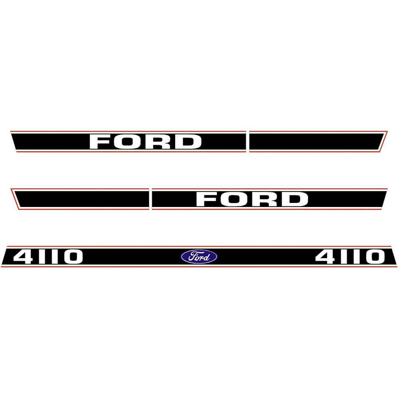 Ford 4110 Tractor Decal Sticker Set