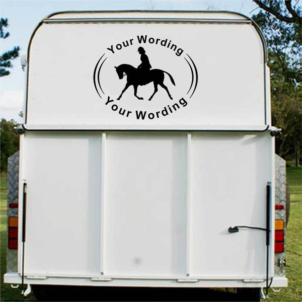 Showpony Horse Float Decal