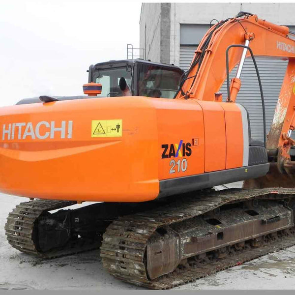 Hitachi ZX210 Decal Sticker Set