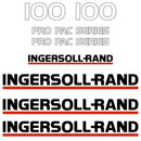 Ingersoll Rand SD100 Decal Sticker Set