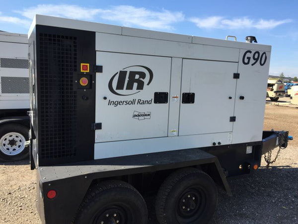 Ingersoll Rand G90 Generator Decal Sticker Set