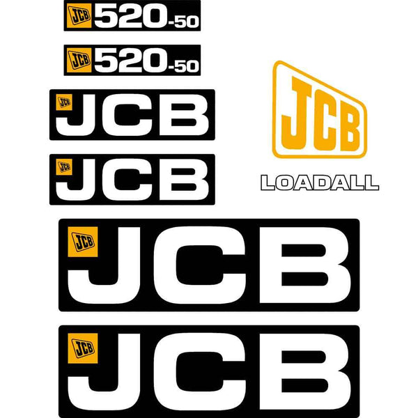 JCB 520-50 Decals
