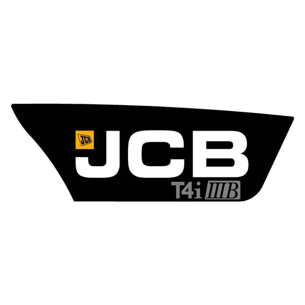 JCB Telehandler Decal Sticker Side Engine Cover T4