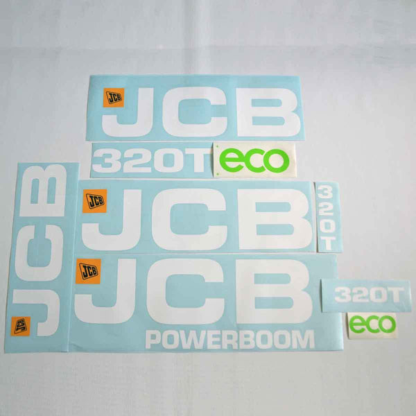 JCB 320T ECO Decal Sticker Set