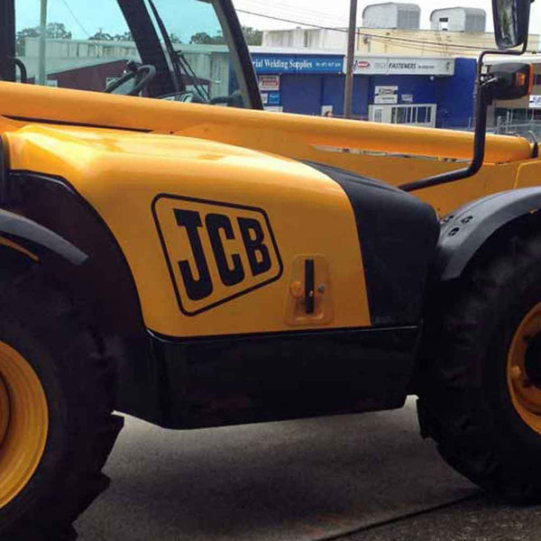 JCB Telehandler Decal Sticker for Side Engine Cover