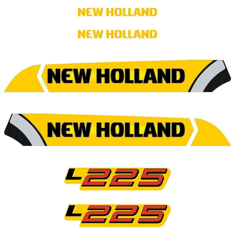 New Holland L225 Decals Stickers