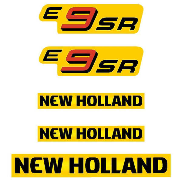 New Holland E9SR Decal Set