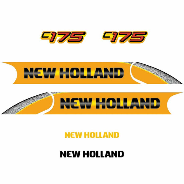 New Holland C175 Decal Set