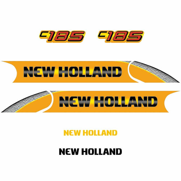 New Holland C185 Decal Set