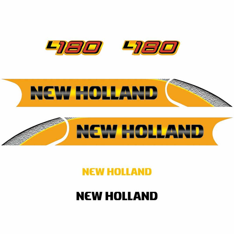 New Holland L180 Decal Set