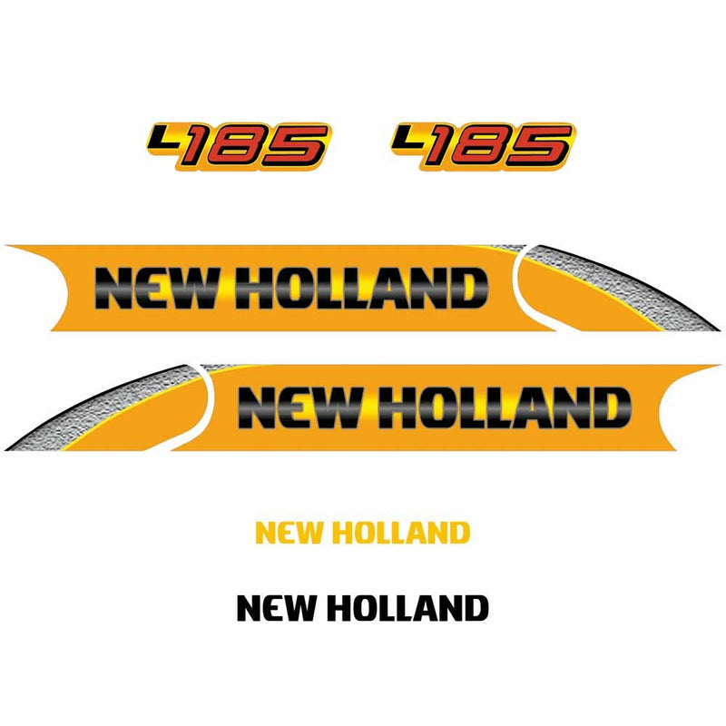 New Holland L185 Decal Set