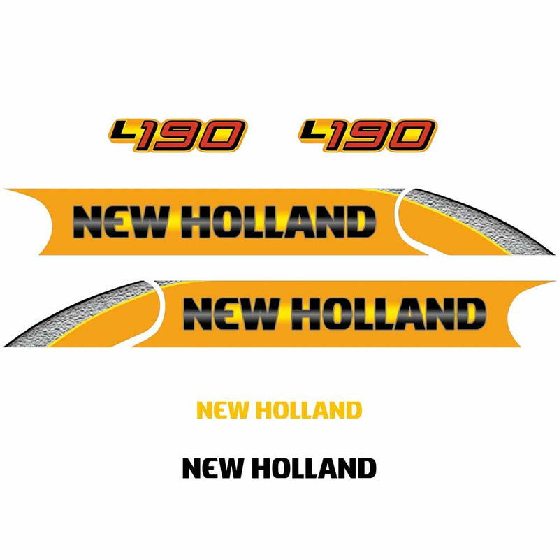 New Holland L190 Decal Set