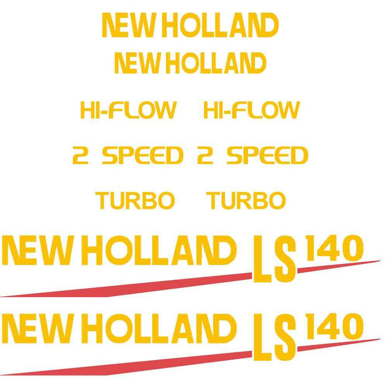 New Holland LS140 Decal Set