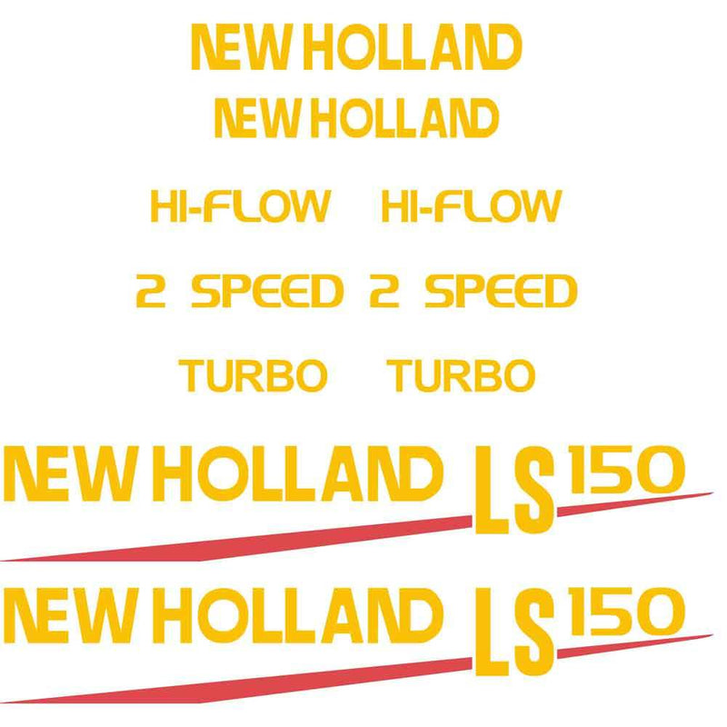 New Holland LS150 Decal Set