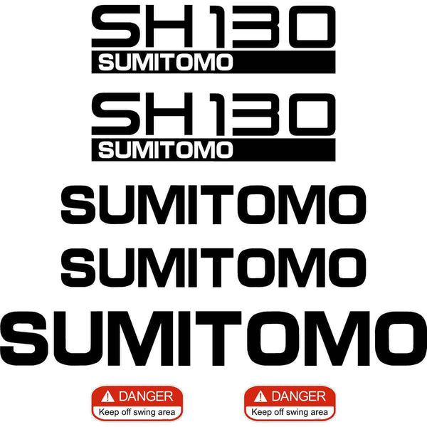 Sumitomo SH130-5 Decal Sticker Set