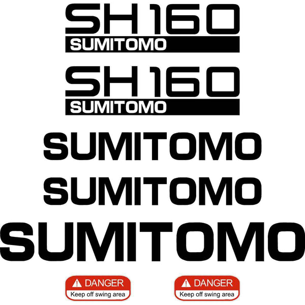 Sumitomo SH160-5 Decal Sticker Set