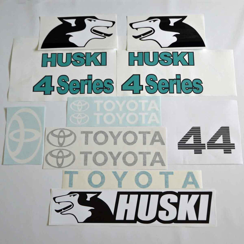 Toyota Huski 4SDK4 Decal Sticker Set