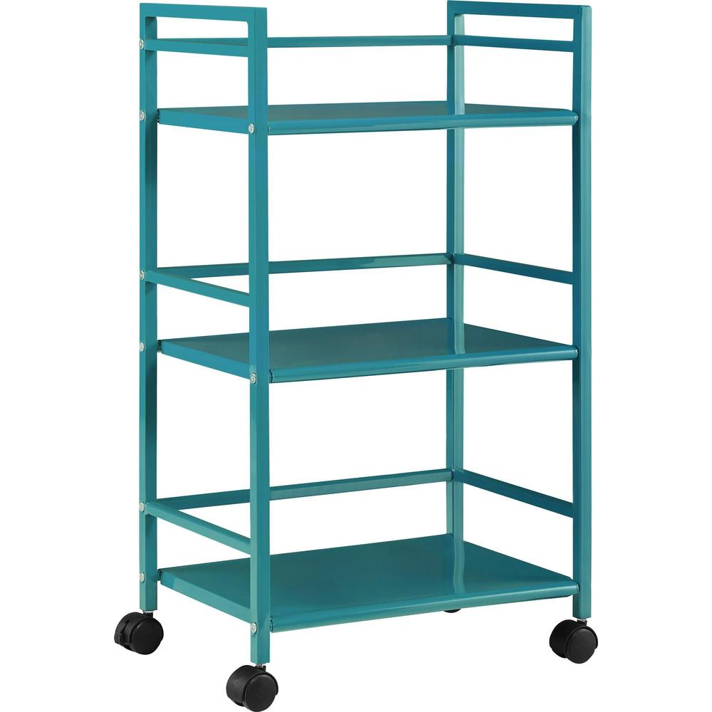 Porch & Den Julian 3-shelf Rolling Utility Cart