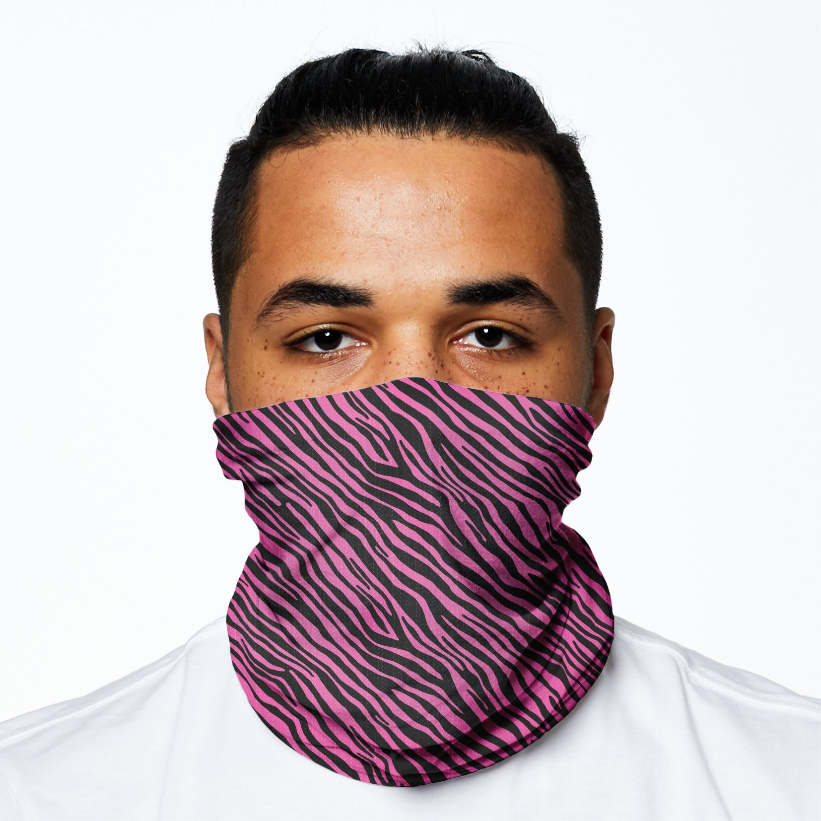 Snood - Pink Zebra