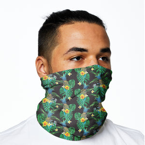 Snood - Tropical Black