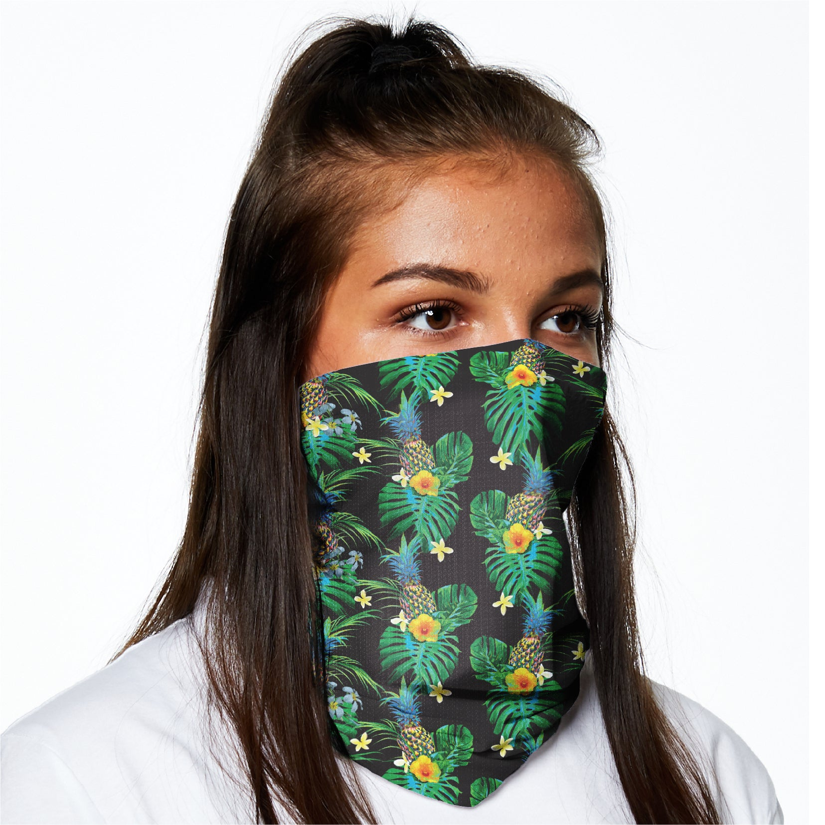 Snood -  Tropical Green