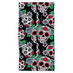 Load image into Gallery viewer, Snood - Skulls and Roses