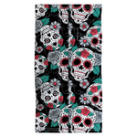 Load image into Gallery viewer, Snood - Skull & Roses