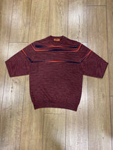 Missoni Crewneck Sweater - Black/Red