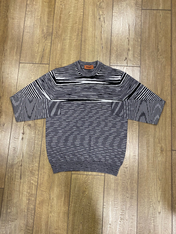 Missoni Crewneck Sweater - Black/White