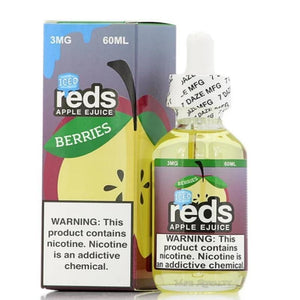 7 Daze Berries Reds Apple ICED - 60mL-EJuice-Online