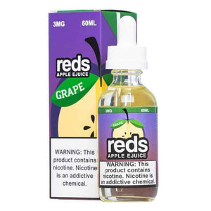 7 Daze Grape Reds Apple - 60mL-EJuice-Online