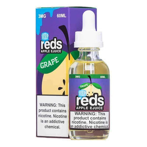 7 Daze Grape Reds Apple ICED - 60mL-EJuice-Online