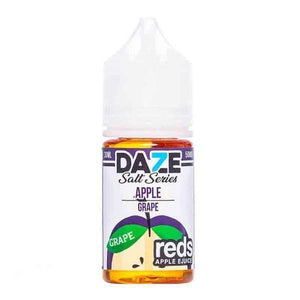 7 Daze Salt Reds Grape - 30mL-EJuice-Online