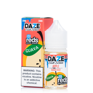 7 Daze Salt Reds Guava ICED - 30mL-EJuice-Online